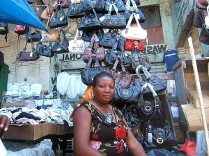 naiset, toimii, tarvike, business