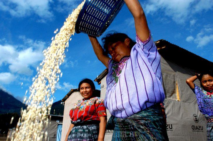 phụ nữ, người lao động, Panabaj, Solola, Guatemala