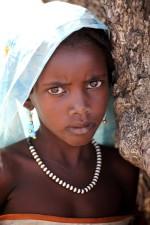 young, beautiful, Sudan, girl