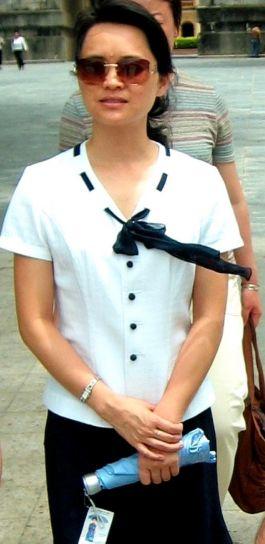 young, women, Pingxiang, Guangxi, province, China