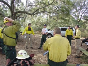 fire, briefing, befor