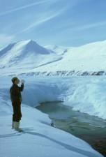 alpinista, descansar, beber água, montanhas