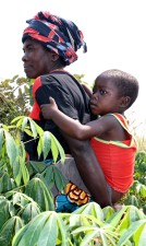 République démocratique du Congo, les femmes, enfant