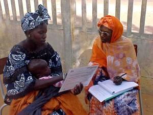 village, Affe, northern Senegal, community, health, worker, discusses