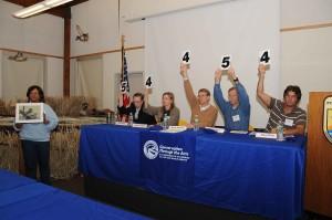 judges, hold, respective, scores