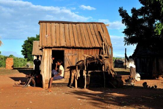madagascar, family, village, household