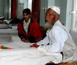 Afganistán, la atención médica, los pacientes