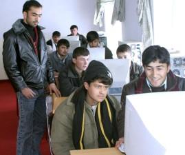 Badakshan, institute, technology, students, learn, computers