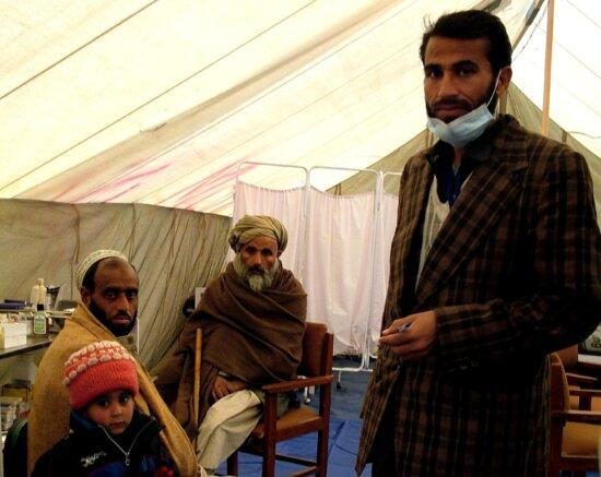doctor, medical tent, Asia, Pakistan