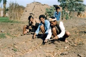 Egipto, los agricultores, campo