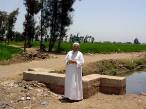 zemědělci, obyvatel, bydlení, kanály, Gededa, Ilona, SED, Egypts