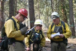 Feuerwehrmann, Briefing, brennen