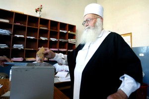 レバノン, 高齢者, 男性, 鋳造, 投票