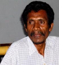Човече изток, Тимор, лицето, затворете