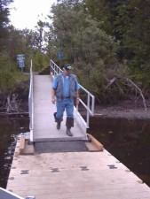man, dock, pier