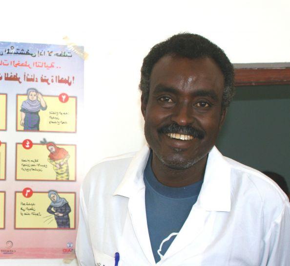 médical, docteur, stands, soins de santé, diagramme