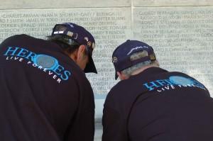 memorial, wall