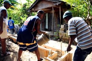 men, construct, home