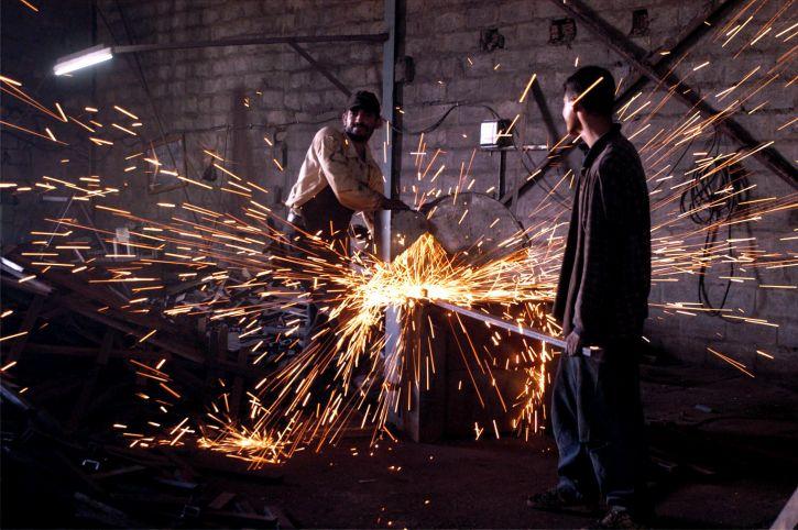 metall, fabrikken, ansatte