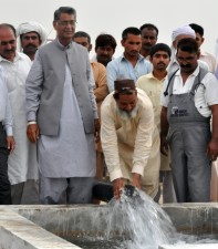 ljudi, vode, protok, cijev, bunar, motorne, električne, pumpa