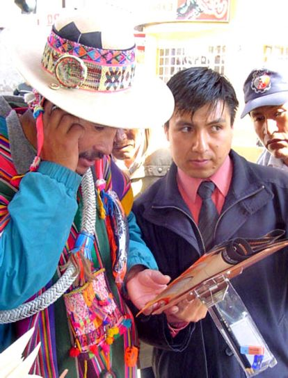 right, local, leader, Lagunillas, acted, citizen, observer, Bolivias, recent, elections