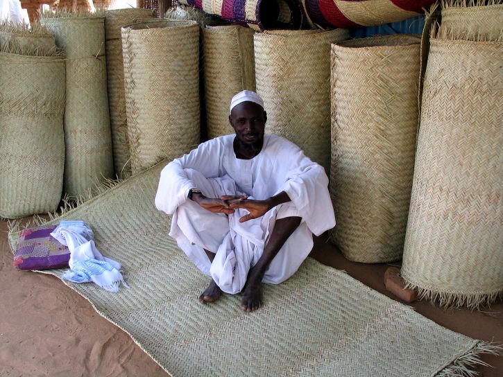 Sudán, koberec, dodávateľ