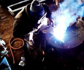 welding, worker, shop