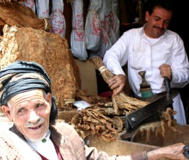 Yemen, market, scene, men, sell, goods, Yemen, market