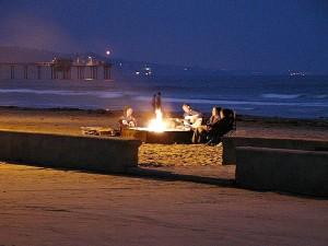 океан, пирсы, гитара, костры, песок, пляжи
