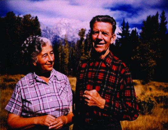 old, pair, grandparents