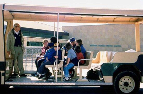 open, tram, tour