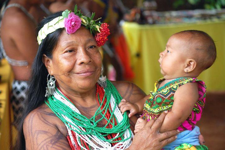 panama, génération, Embera, Wounaan