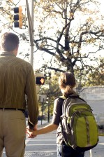 midlertidig, veikryss, venter, crosswalk, signal, angi, tillatelse, kors, street
