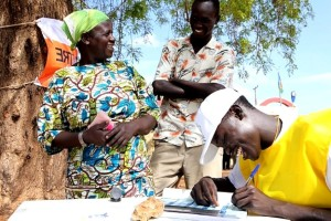 people, Sudan, register, vote, referendum
