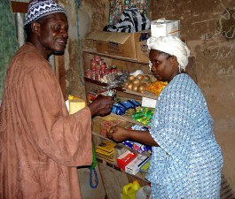 small, shop, man, woman, Senegal