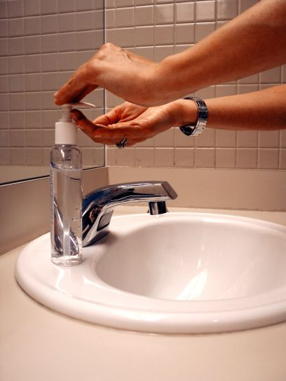 washing, hands, up-close, photo