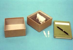 laboratorní, výrobky, zapojen, zmrazení, lyophilizing, skladování, expedice, anaerobní bakterie