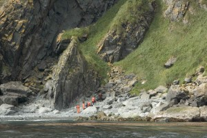 researchers, coast, island