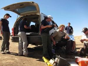 la faune, les biologistes, les travaux sur le terrain