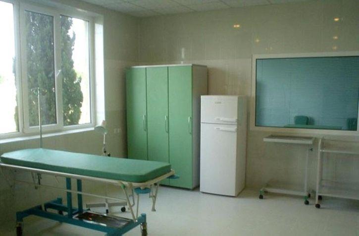 Emergency, rom, sykehus, Aserbajdsjan, renovert, del, krise, medisin, initiativ