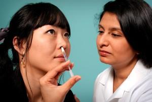 close-up, lica, azijski, žena, Muški, liječnik