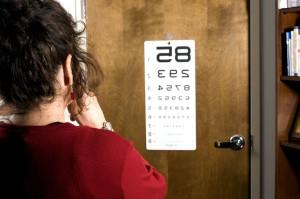 diabetico, occhio, malattia, esame