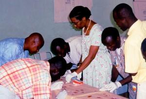 lääkäri, toimisto, Koupela, Burkina Faso, Länsi-, Afrikka