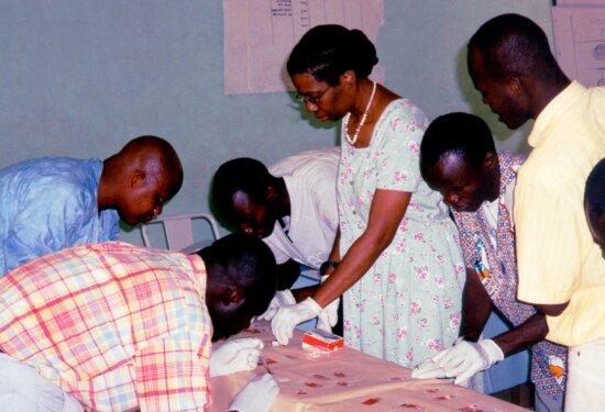 læge, kontor, Koupela, Burkina Faso, vestlige, Afrika