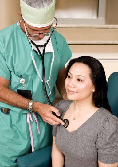 doctor, stethoscope, exam