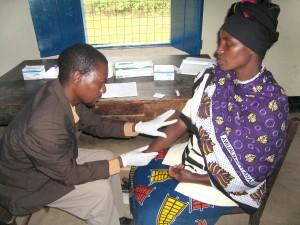 docteur, essai, femme, mobile, conseils, essais, unités, Tanzanie