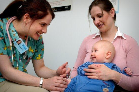immunization, children, doctors, office