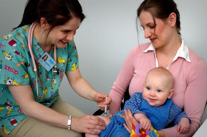 baby's, peuters, ingeënt, ziekten, voorkomen, vaccinatie