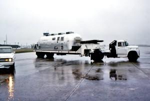 mobile, quarantaine, installation, chargé, jet, le transport