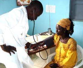 Land, Bewohner, Senegal, Gesundheitswesen, zugänglich, danke, communty, Gesundheit, Hütten